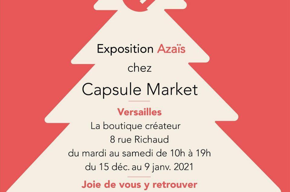 Exposition chez Capsule Market, Versailles